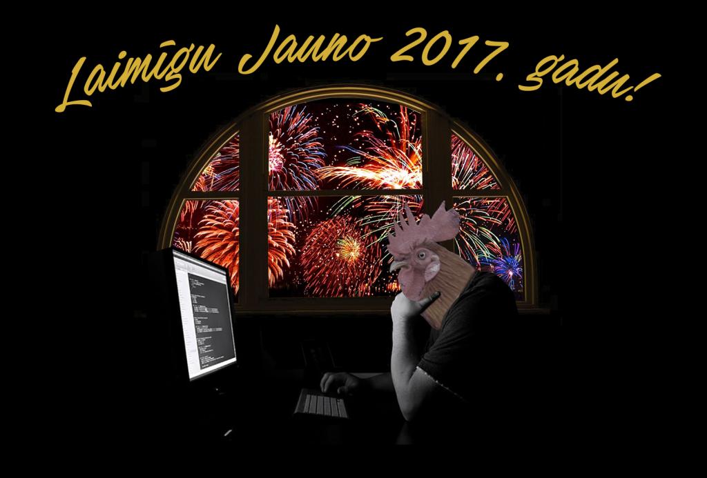 Laimīgu Jauno 2017. gadu!