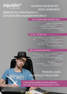 datorsistēmu administratori - praktikanti